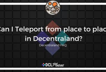 teleport in decentraland