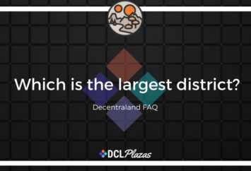 largest decentraland district