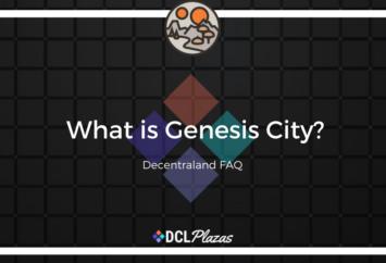 genesis city decentraland