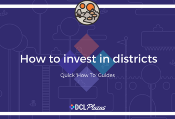 how to invest in districts decentraland