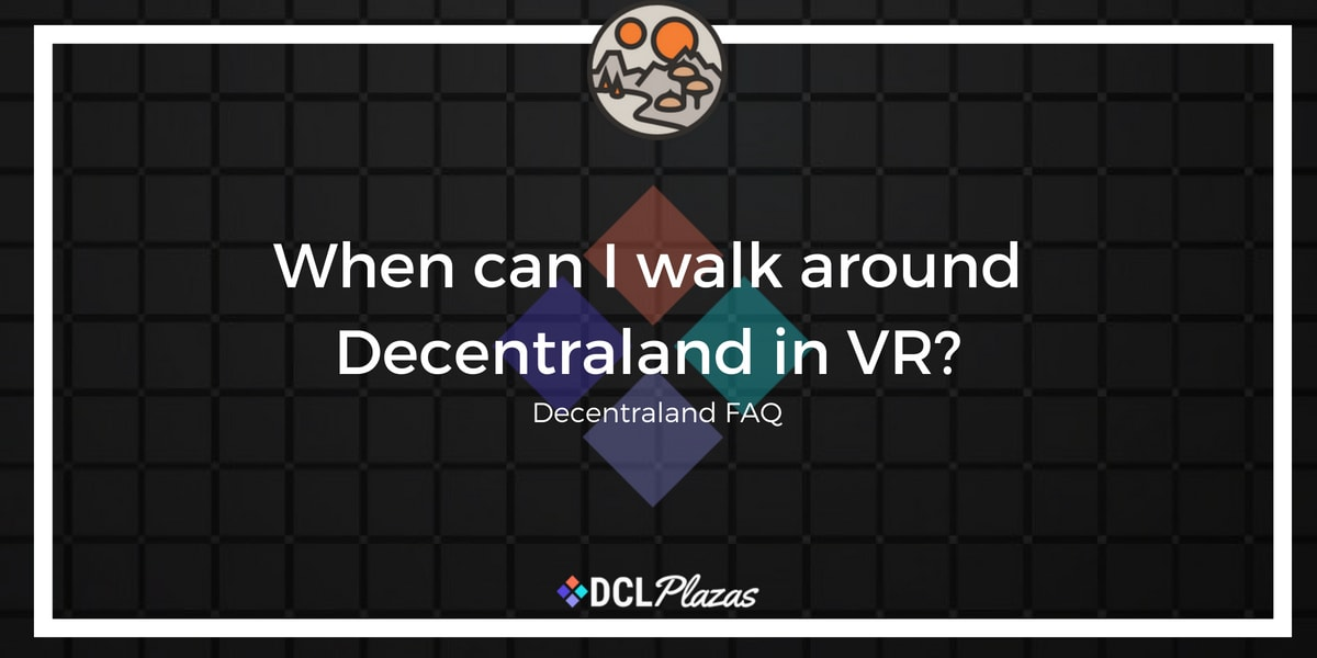 decentraland in vr
