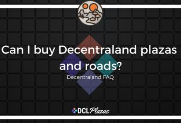decentraland plazas