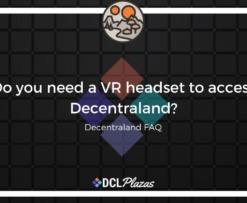decentraland vr headset