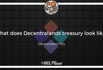 decentraland treasury