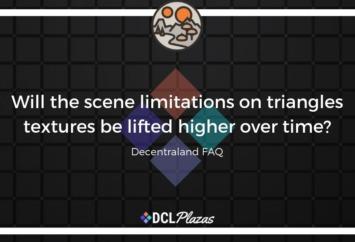 decentraland scene limitations