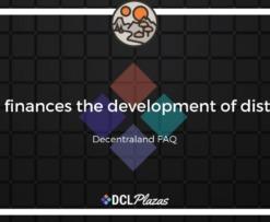 decentraland district finance