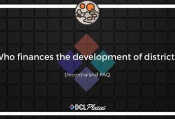 decentraland district finance