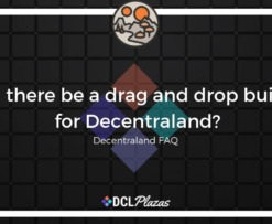 decentraland drag drop