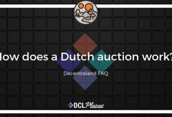 decentraland dutch auction