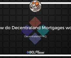 decentraland mortgages