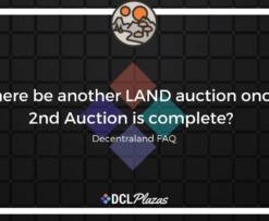 decentraland land auctions