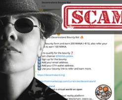 decentraland scam