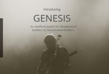 decentraland genesis music album