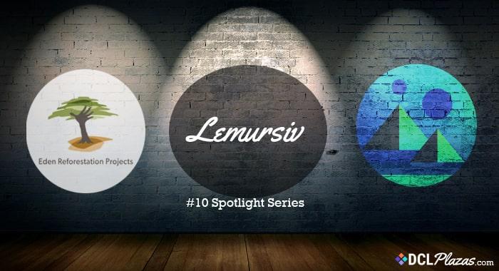 lemursiv-decentraland-eden-project